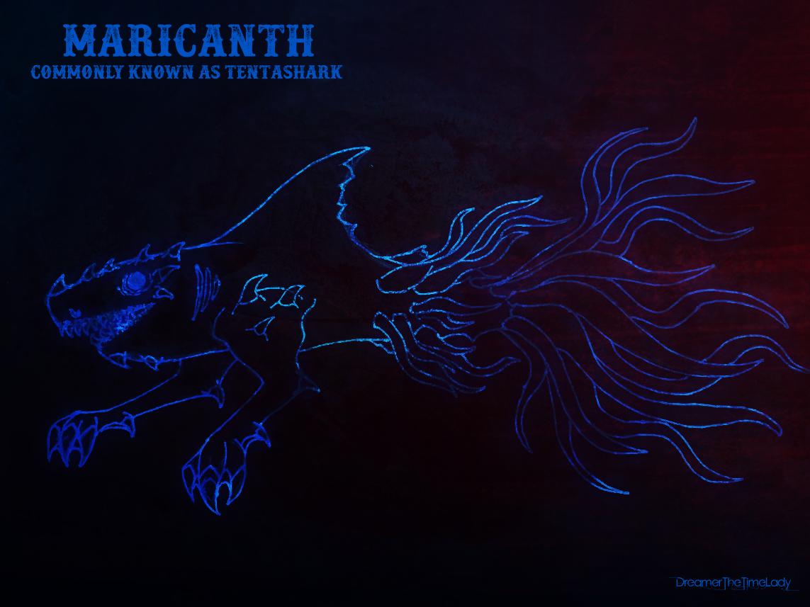 Maricanth (aka Tentashark) by DreamerTheTimeLady