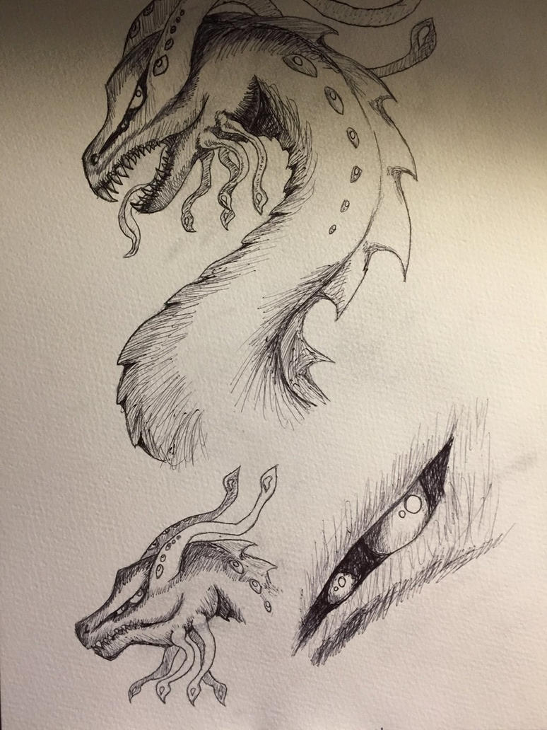 Insanity (WIP sketches) by DreamerTheTimeLady