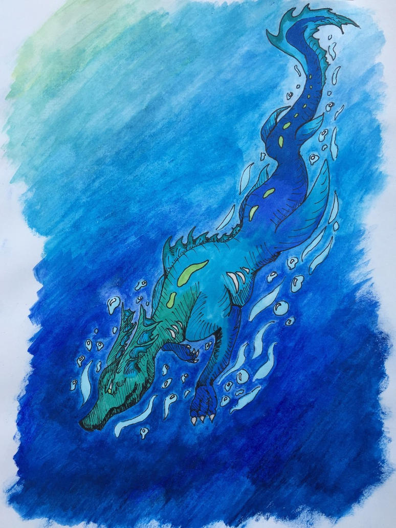 Into the depths by DreamerTheTimeLady