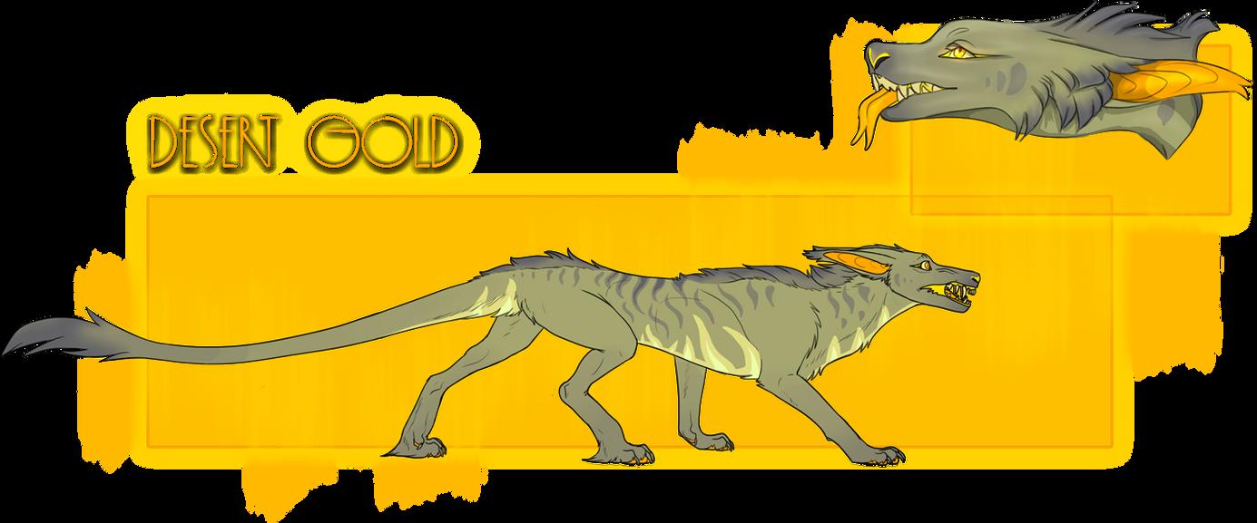 Desert Gold - Vernid Adopt [CLOSED] by DreamerTheTimeLady