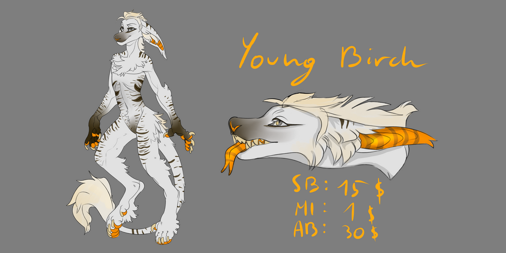 Young Birch - Vernid Adopt [CLOSED] by DreamerTheTimeLady