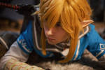 Link Cosplay SnowDragon Breath of the Wild