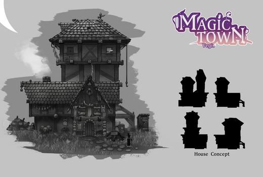 Magic Town House Concept