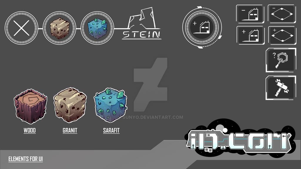 WIP UI-Elements -- InCom by SunYo