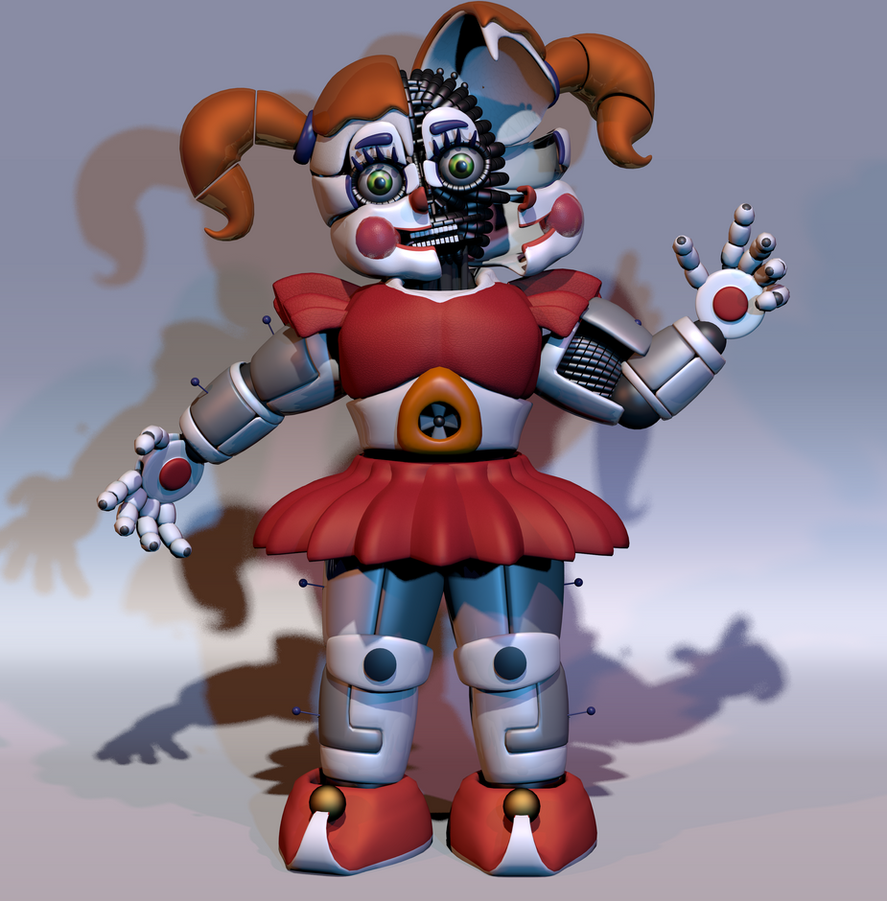 Circus Baby Full Body by ChuizaProductions on DeviantArt