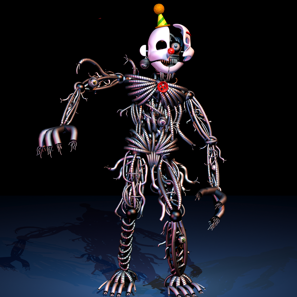 Ennard Final Model - [FNaF SL Blender] by