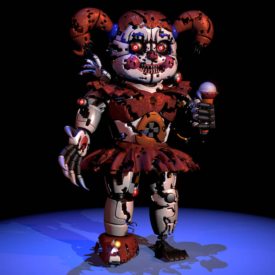 [FNaF SL Blender] By ChuizaProductions On