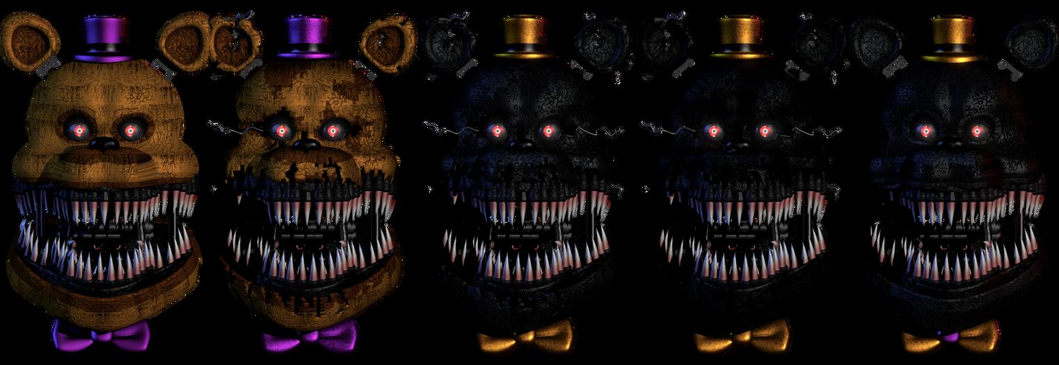 Nightmare Fredbear V1 Head showcase by ChuizaProductions ...