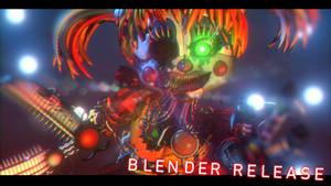 Scrap Baby V2 Blender Release!!! - [FNaF 6 FFPS]
