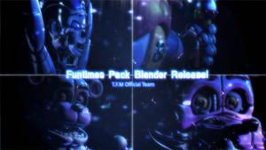 TFM Funtimes Pack Blender Release! - [FNaF SL]
