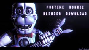 Funtime Bonnie Download - [FNaF SL Blender]