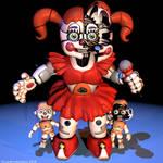 Circus Baby Extra Render - [FNaF SL Blender]