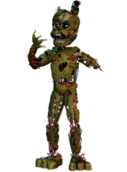 William Afton FullBody - [FNaF 6 FFPS] by ChuizaProductions