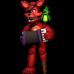 Rockstar Foxy FullBody! - [FNaF 6 FFPS] by ChuizaProductions