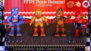 Blender-SFM-C4D RELEASE - FFPS Pack ROCKSTARS by ChuizaProductions