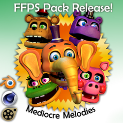 Blender-SFM-C4D RELEASE - MEDIOCRE MELODIES PACK by ChuizaProductions