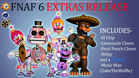 Blender-SFM-C4D RELEASE - FFPS Pack EXTRAS by ChuizaProductions