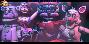 Last Funtimes RELEASE! - [FNAF SL Blender] by ChuizaProductions
