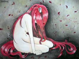 Elfen Lied - Lucy by JadeDecay