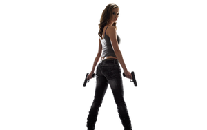 Gun girl by JessicaRufus