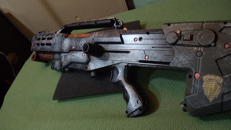 steunk machine gun