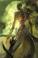 Snake woman by Guang-Yang