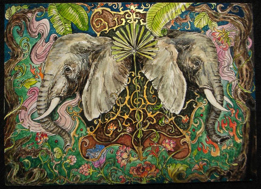 Elephant by godbo6