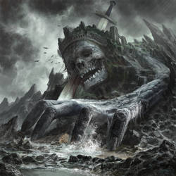 Dead Giant King in Border by Guang-Yang