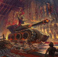 Gears of blood by Guang-Yang