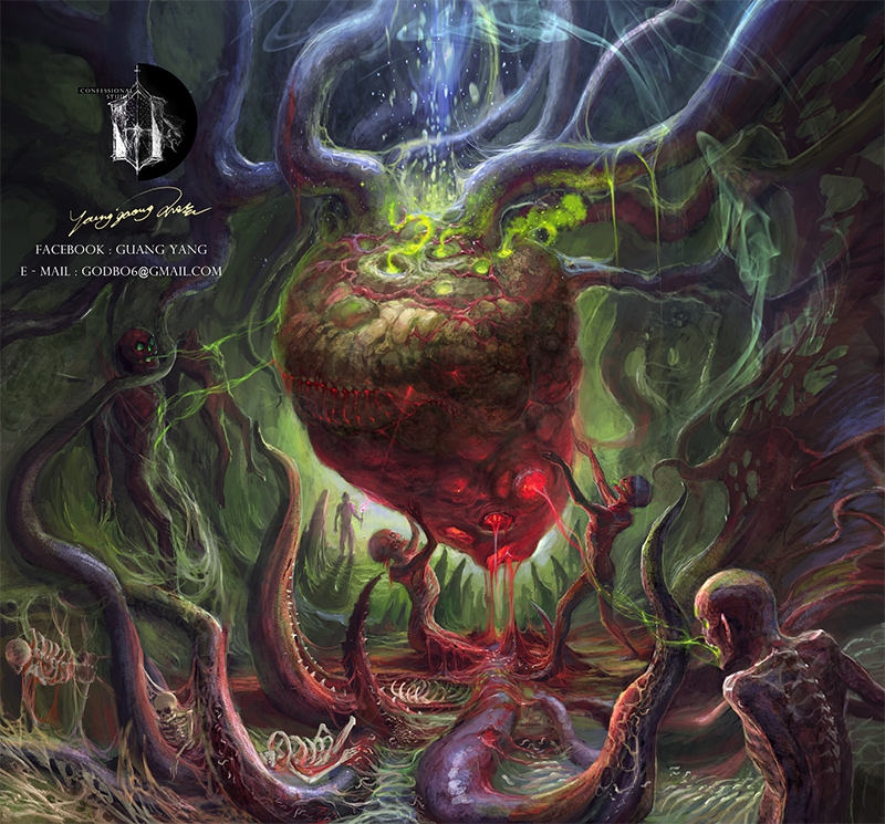 Maggot Colony by godbo6