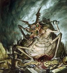 Maggot Mother by Guang-Yang