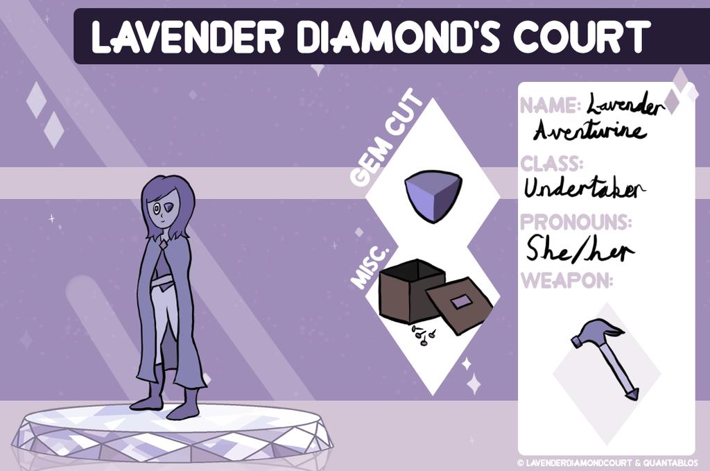 Lavender Aventurine by Sugarhoneymouse