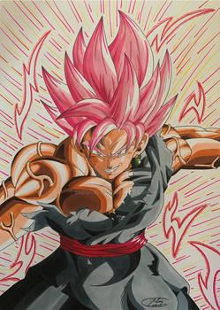 Goku Black Rose Sparking