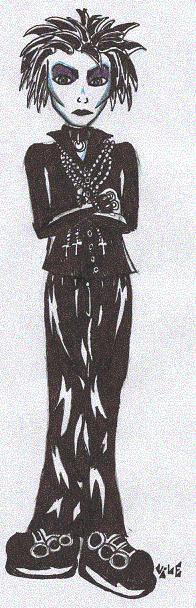 Austin - Beautiful Gothic Boy
