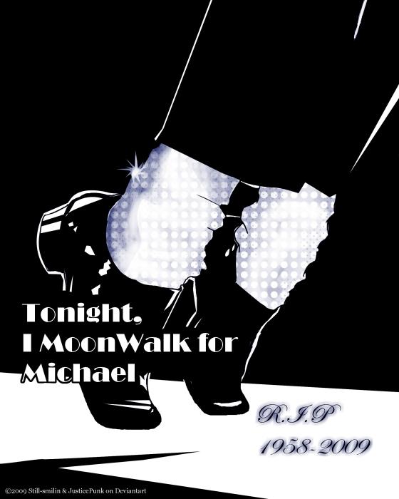 Tonight I Moonwalk