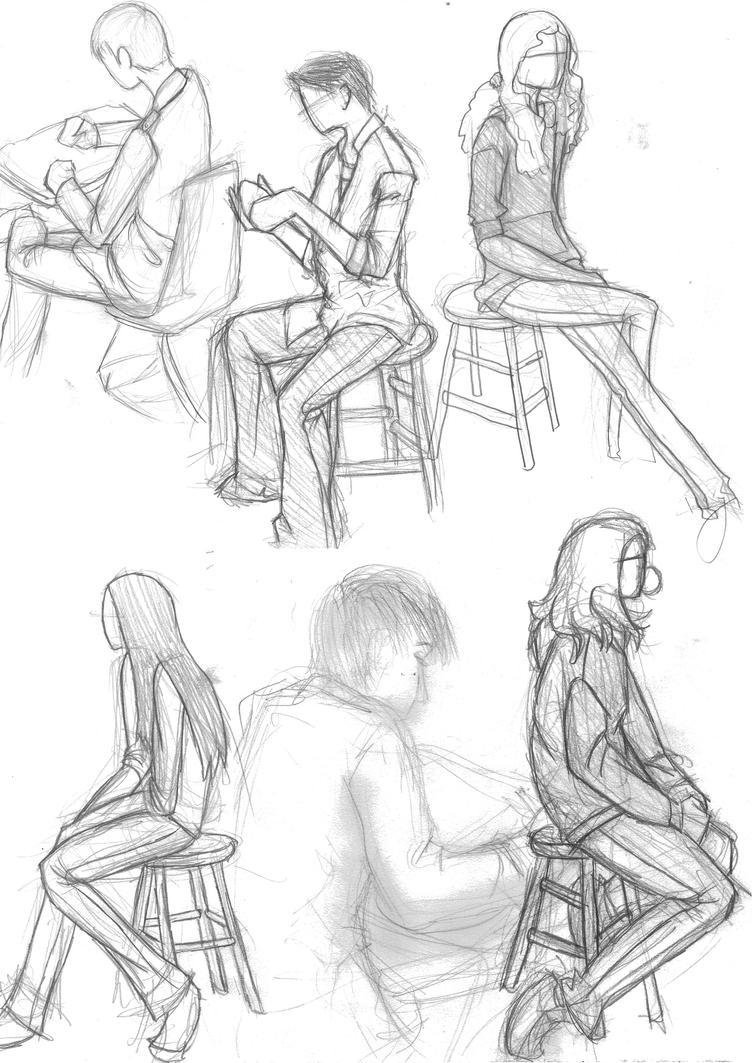 Drawings of people by pandikko on DeviantArt