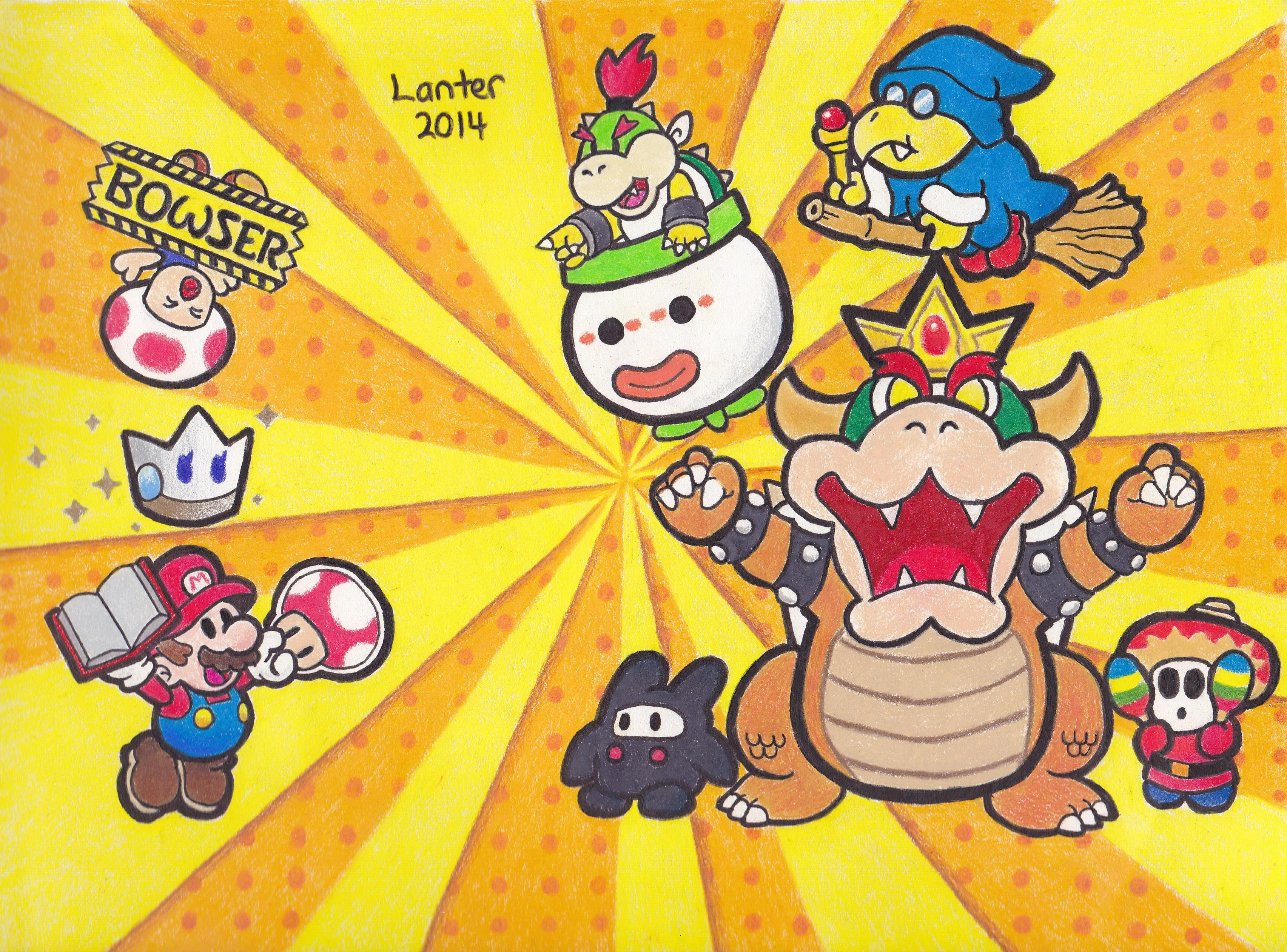 Paper Mario Sticker Star Tribute by Isuckworse on deviantART
