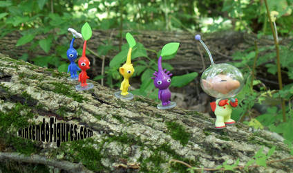 Olimar Leads the Way - Pikmin
