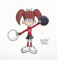 Angry Cheerleader
