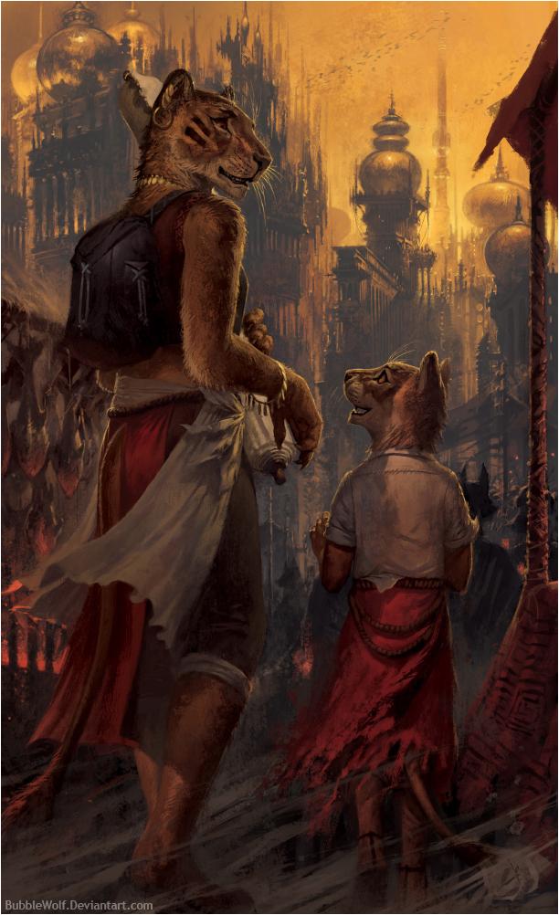 Big Lion by BubbleWolf
