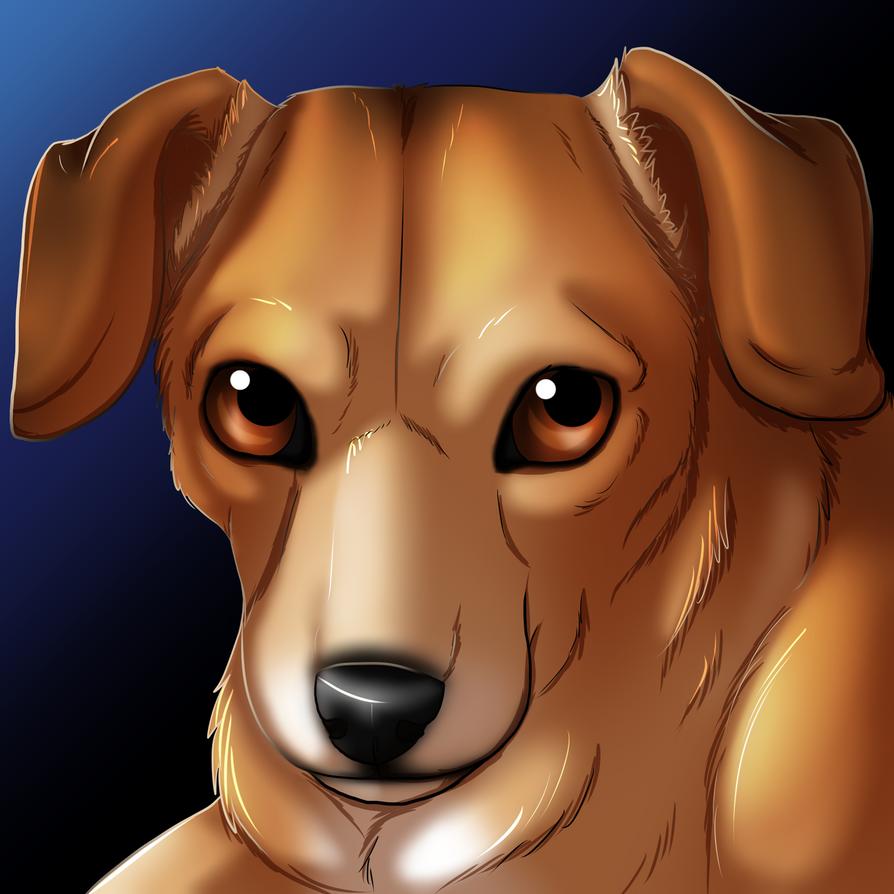 Doggo Portrait by wolfie115