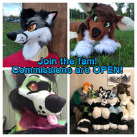 Fursuit Commissions are (now closed)