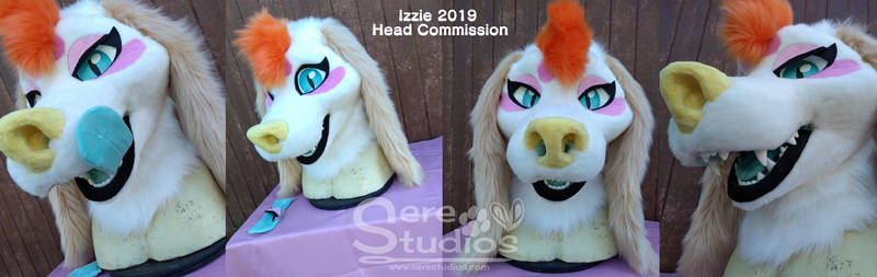 Izzie - 2019 Head Commission