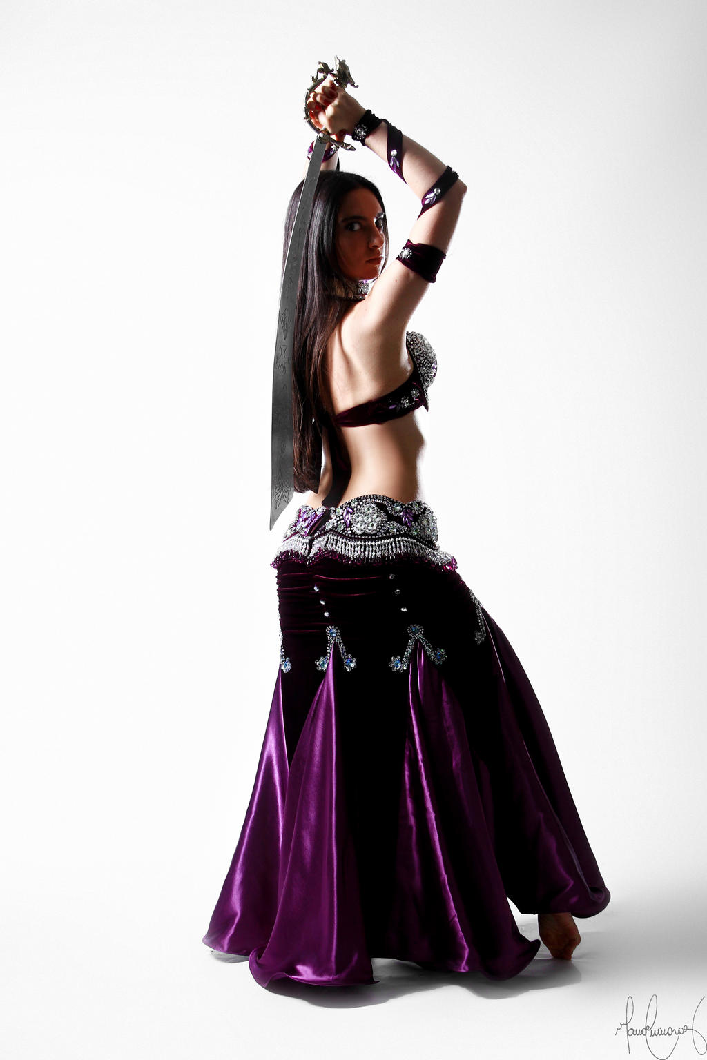Belly Dancer Sword Stock 07 by LoryenZeytin