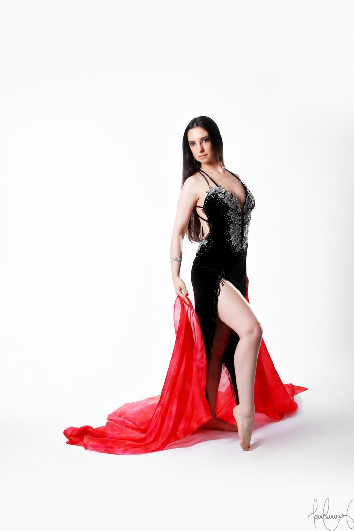 Belly Dancer Veil Stock 04 by LoryenZeytin