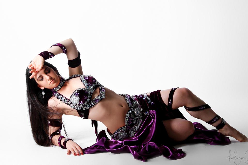 Purple Belly Dance Stock 10 by LoryenZeytin