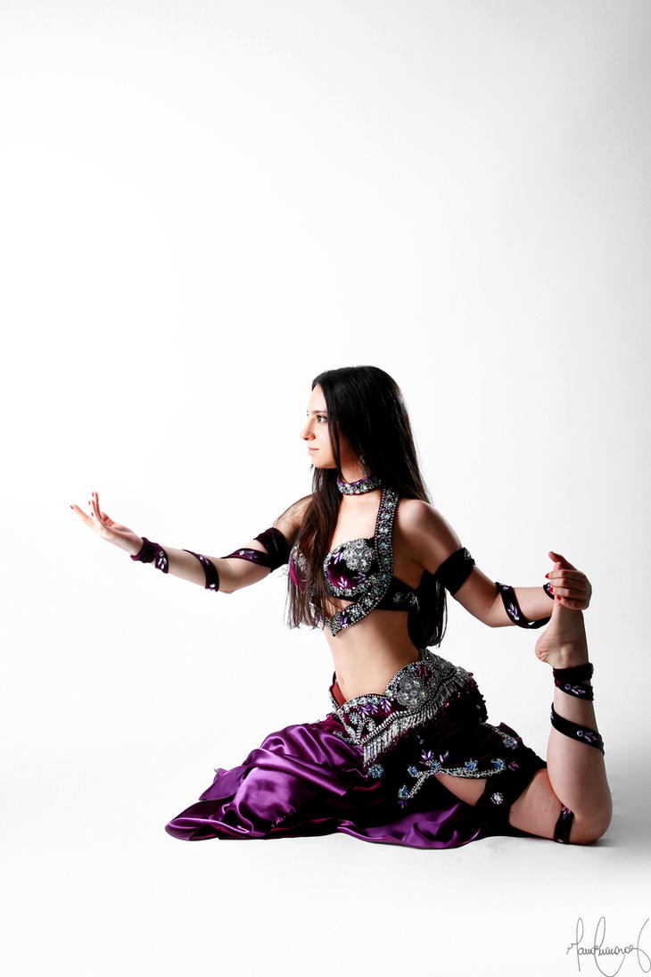 Purple Belly Dance Stock 13 by LoryenZeytin