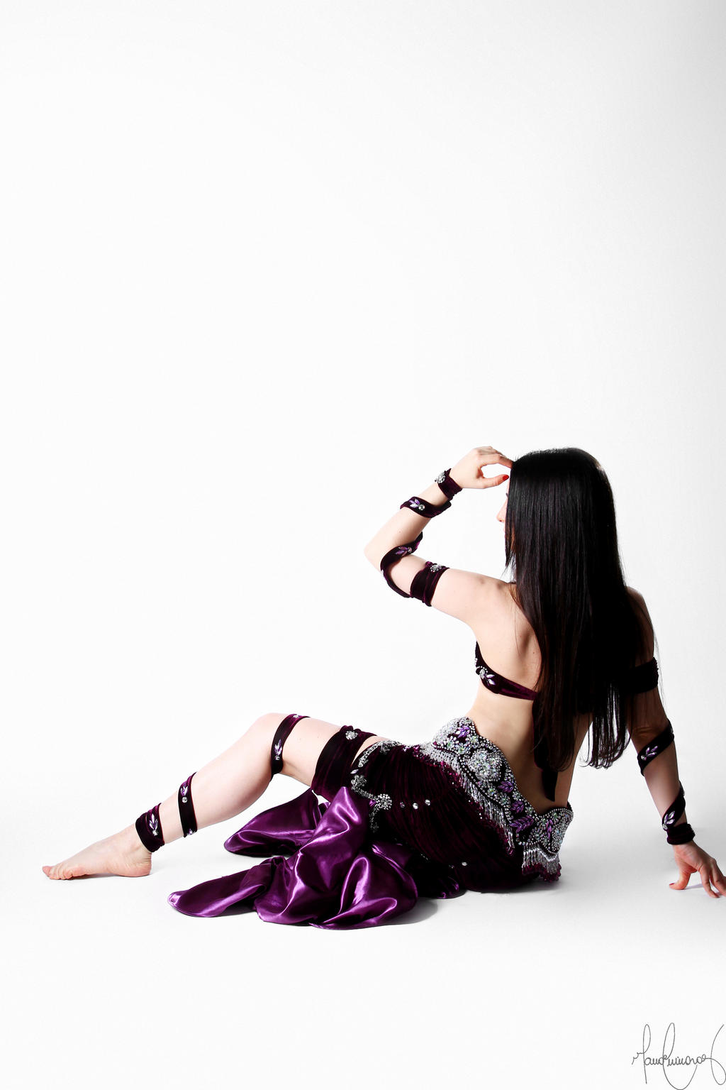 Purple Belly Dance Stock 14 by LoryenZeytin
