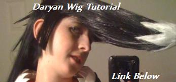 Daryan wig tutorial by sugersnake