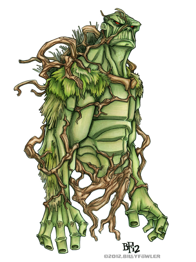 Swamp Thing by Sweatybuffalo